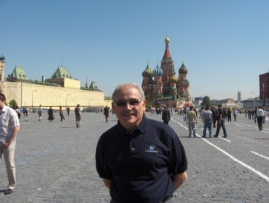 John Pourdehnad in Red Square