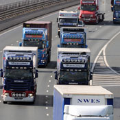 UK lorry drivers